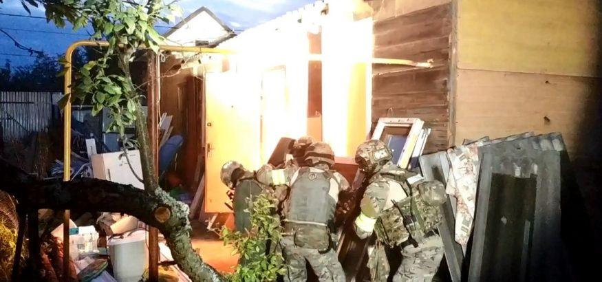 Террористы в Кольчугино
