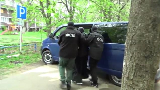 Задержание боевика Ставрополь