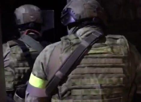 Задержание крымского террориста