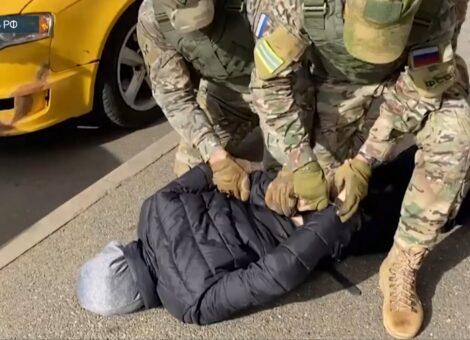 Задержание террориста Ставрополь
